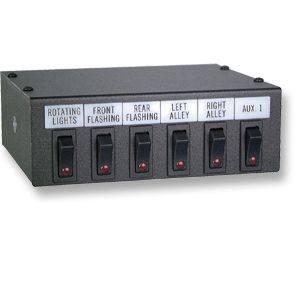Stealth 3 Switch Control Panel