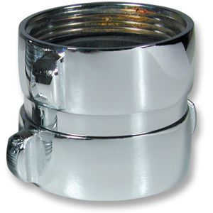Chrome Double Female Adapter