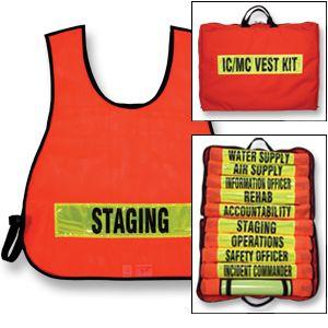 Fire Command Vest Set