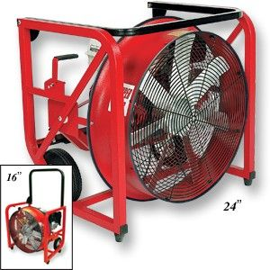 Gas Positive Pressure Smoke Ventilators