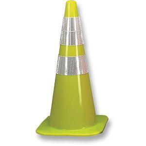 Fluorescent Lime W Cone