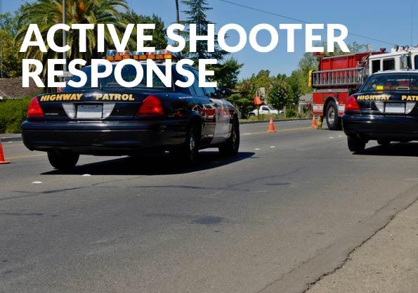 Active Shooter Response Banner