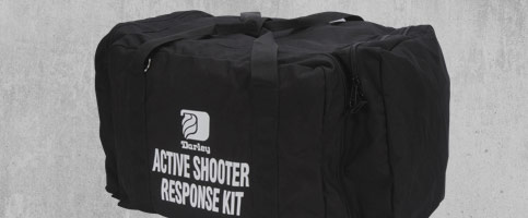 Active Shooter Response Casualty Response Bags Banner