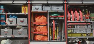 Firefighting Equipment Apparatus Banner
