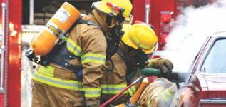 Firefighting Equipment Rescue Banner