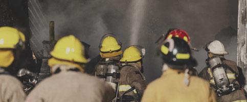Firefighting Equipment Turnout Gear Banner