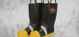 Turnout Gear Boots Banner/