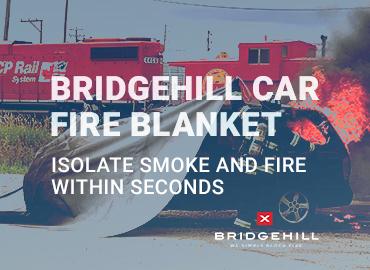 Car Fire Blanket Promotional Image