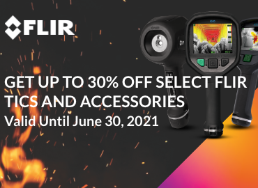 FLIR Fire Sale promotional image