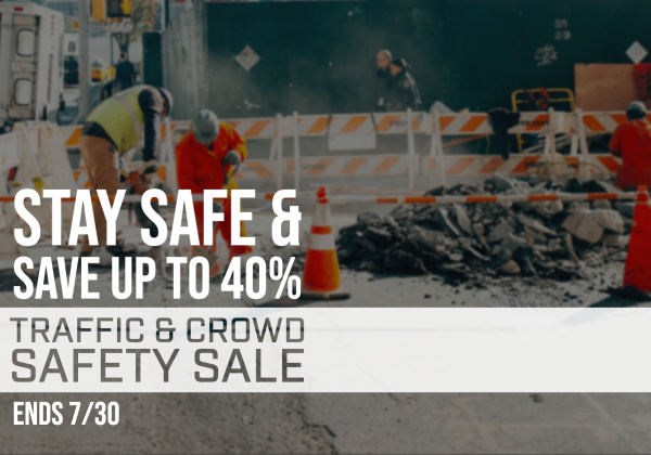 Traffic Control Sale Promotional Image